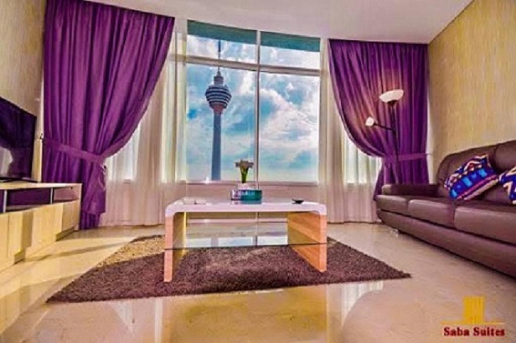 Saba Suites At Vortex Klcc Bukit Bintang Kuala Lumpur-8 من 38 الصور